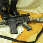 Airsoft Assault Rifle in Microprint