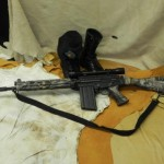 Airsoft Assault Rifle in Microprint pic2