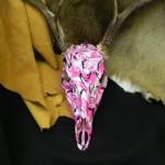 Deerskull in Pink Camo