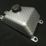 Gas tank in Diamond Plate
