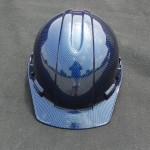 Hardhat in Blue Carbon fiber pic2