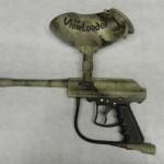 Paintball gun in A-Tacs