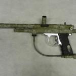Paintball gun in Derert Digital